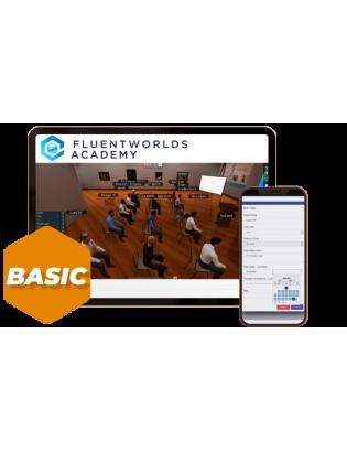FluentWorlds Academy plan basic