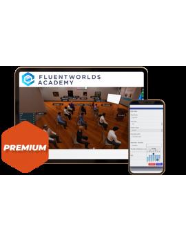 FluentWorlds Academy plan premium